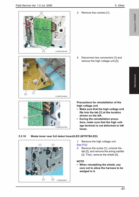 Konica-Minolta magicolor 2490MF FIELD-SERVICE Service Manual-4